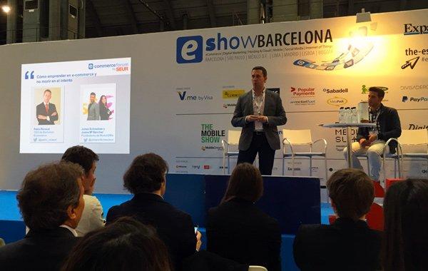 Pablo Renaud en el eShow Barcelona 2015