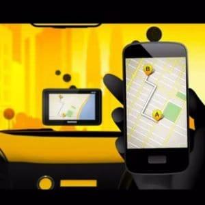 Apps de taxis online
