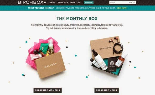 Birchbox - discovery ecommerce