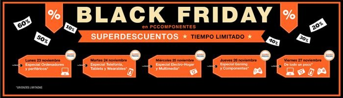 Black Friday en PC Compoentes