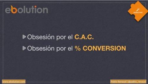 Coste de adquisicón de cliente y conversión ecommerce