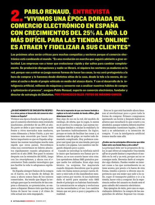 Entrevista a Pablo Renaud sobre futuro del ecommerce en España