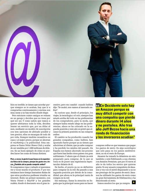 Entrevista a Pablo Renaud sobre futuro del ecommerce en España, hoja 2