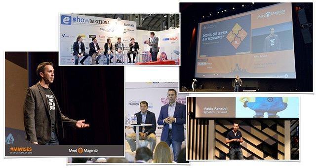 Eventos y conferencias de Pablo Renaud experto en comercio electrónico