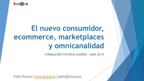 Contenidos de la formación sobre ecommerce y marketplaces - 1