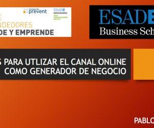 Formación en ESADE sobre negocio online