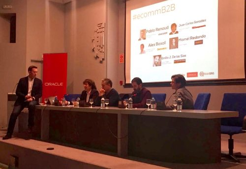 Mesa redonda moderada por Pablo Renaud sobre Ecommerce B2B
