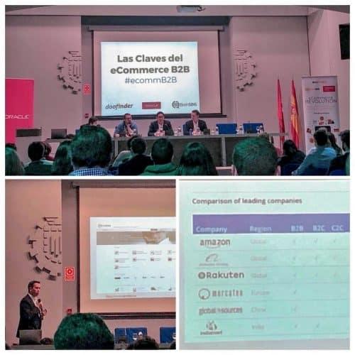 Ponencia de Pablo Renaud en el evento sobre Ecommerce B2B