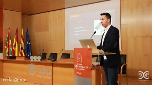 Pablo Renaud en su conferencia sobre Amazon en FTVA