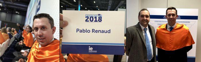 Pablo Renaud, mejor profesor IE 2018