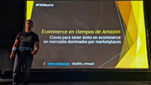 Pablo Renaud en PrestaShop Day Madrid 2019