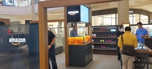 Tiendas pop up de Amazon