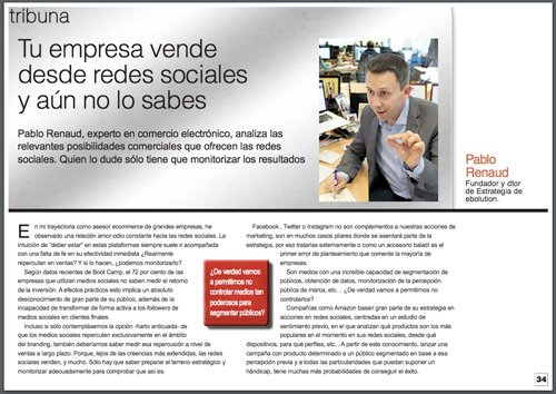 Pablo Renaud - Tribuna en El Economista